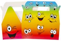 LG-Imports menubox piraat jongens 22 x 12 cm karton 10-stuks