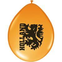 Oranje artikelen Oranje ballonnen Holland 16 stuks -
