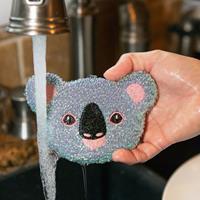 Kikkerland Dier Afwassponsjes (set Van 3) - Koala