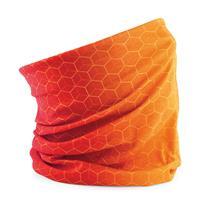 Beechfield Oranje supporters nekwarmer -