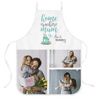 Wanapix Keukenschort voor moederdag met jouw foto en naam bedrukken