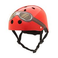Red Goggle kinderhelm