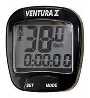 Ventura Fietscomputer X 10 Functies Bedraad