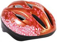 Volare deluxe fiets/skatehelm - maat 51 - 55 cm - brons/roze