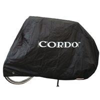 Cordo Fietshoes voor 2 fietsen Zwart 128X98X235CM