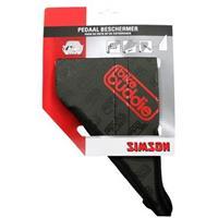 Simson pedaalbeschermer Bikebuddie zwart