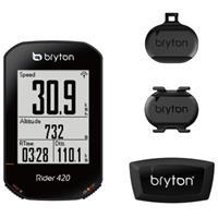 Bryton Rider 420E fietscomputer (GPS, cadans- en hartslagmeter) - Fietscomputers