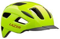 fietshelm Lizard Mips 55 59 cm polycarbonaat geel maat M