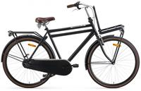 Daily Dutch Basic+ 28 Inch 50 cm Heren 3V V Brakes Matzwart