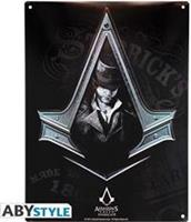 ABYstyle Assassin's Creed Metal Plate - Syndicate