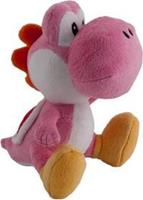 Together Super Mario Pluche - Pink Yoshi (16cm)