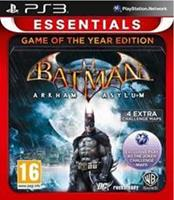 Warner Bros Batman Arkham Asylum Game of the Year Edition (essentials)