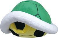 San-ei Co Super Mario Pluche - Green Koopa Shell Pillow