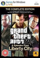 Rockstar Grand Theft Auto The Complete Edition (GTA 4 + Episodes from Liberty City)