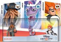 Disney Interactive Disney Infinity Triple Pack Villains (Randy / Syndrome / Davy Jones)