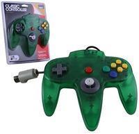Nintendo 64 Controller Groen Transparant ()