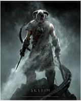 Gaya Entertainment Skyrim Wallscroll Dragonborn