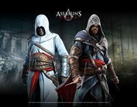 Gaya Entertainment Assassin's Creed Wallscroll - Altair and Ezio in Blackroom