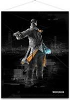 Gaya Entertainment Watch Dogs Wallscroll Aiden Pearce