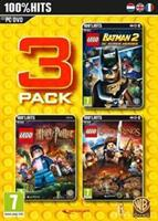 Warner Bros Lego 3 Pack (Batman 2/Harry Potter 5-7/Lord of the Rings)