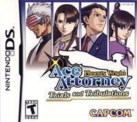 Capcom Phoenix Wright 3 Trials and Tribulations