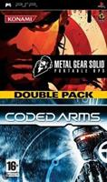 Konami Metal Gear Solid Portable Ops + Coded Arms (Double Pack)