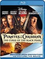 Disney Pirates of the Caribbean 1 - The curse of the black pearl (Blu-ray)