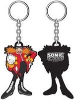Dr. Eggman Rubber Keychain