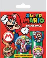 Pyramid International Super Mario Pin Badges 5-Pack
