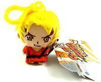 GameOn Street Fighter Pluche Keyring Ken
