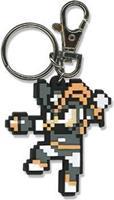 Capcom Megaman 10 8-Bit Rubber Keychain - Bass