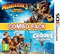 DreamWorks Madagascar 3 + The Croods (Combo Pack)