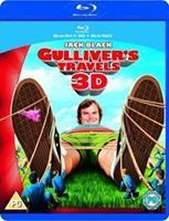 20th Century Studios Gulliver's Travels 3D (3D & 2D Blu-ray + DVD)