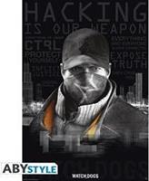 ABYstyle Watch Dogs Poster (Words)