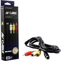 Retro-Bit Sega Megadrive 2 AV Cable ()