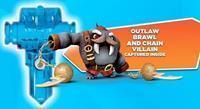Activision Skylanders Trap Team - Water Trap (Outlaw Brawl & Chain Villain Inside)