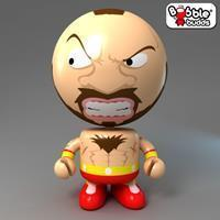 Bobble Budds Street Fighter : Zangief