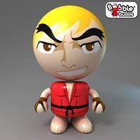 Bobble Budds Street Fighter : Ken