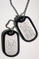 Gaya Entertainment Watch Dogs Dog Tags Fox Wanted