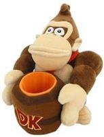 San-ei Co Donkey Kong Pluche with Barrel (25cm)