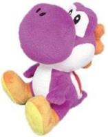 San-ei Co Super Mario Bros.: Purple Yoshi 6 inch Plush
