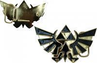 Bioworld Zelda Golden Logo Belt Buckle