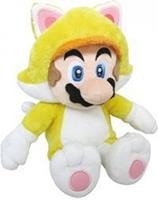 San-ei Co Super Mario Pluche - Cat Mario (30 cm)