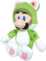 San-ei Co Super Mario Pluche - Cat Luigi (35cm)