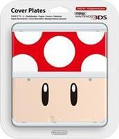 Nintendo Cover Plate NEW  3DS - Red Mushroom