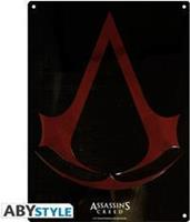 ABYstyle Assassin's Creed Metal Plate - Crest