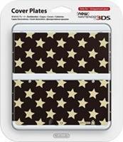 Nintendo Cover Plate NEW  3DS - Stars Black