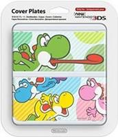 Nintendo Cover Plate NEW  3DS - Multicolour Yoshi