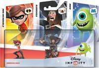 Disney Interactive Disney Infinity Triple Pack Sidekicks (Mike / Mrs Incredible / Barbossa)