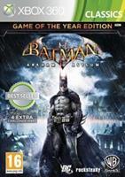 Batman Arkham Asylum GOTY Edition (classics)